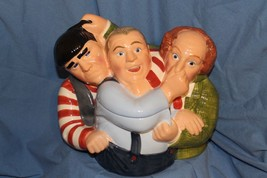 1997 Clay Art Three Stooges Cookie Jar-No Box- Excellent Condition - $65.00