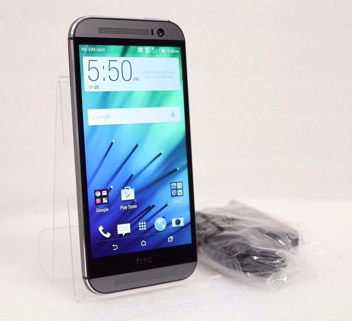 HTC One M8 - 32GB 4G LTE AT&T (GSM UNLOCKED) Android Smartphone