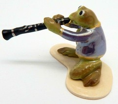"Hagen Renaker Specialties ""Toadally Brass Band"" Frog Clarinet Player #3258 - £20.86 GBP"