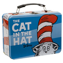 Dr. Seuss The Cat In The Hat  Large Carry All Tin Tote Lunchbox, NEW UNUSED - $15.47