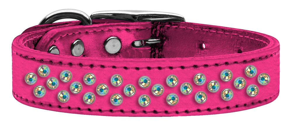 Primary image for Sprinkles Ab Crystal Metallic Leather Pink 18