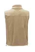Men's Lightweight Warm Polar Fleece Jacket Full Zip-Up Collared Sweater Vest image 12