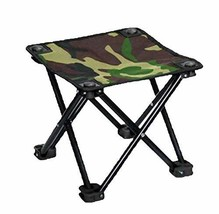 Black Temptation Folding Chair Portable Outdoor Folding Chair Folding St... - £21.79 GBP