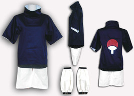 Halloween Narutos Anime Ninja Sasuke Uchiha Cosplay Party Costume - $54.60