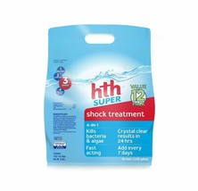 Hth Pool Shock Super Shock Treatment 4-In-1 12 Count (52016) - $55.64