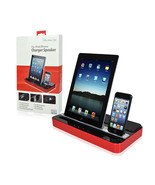 Charger Speaker DUAL DOCK for iPhone 6/6+ 5/5S/5C 4/4S iPad(All Model) S... - $81.59