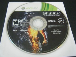 Battlefield 3 -- Limited Edition (Microsoft Xbox 360, 2011) - Disc 2 Only!!! - $3.78