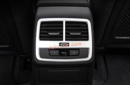 ABS Plastic Armrest Rear Air Vent Cover Trim For Audi A4 Sedan 2016 2017 B9 - $31.78