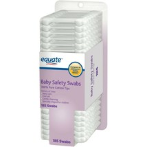 Equate Baby Safety Swabs, 185 Count, 2 Pack.. - $15.83