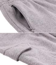 Men's Casual Fleece Sweatpants Sport Gym Workout Fitness Cargo Jogger Pants image 10