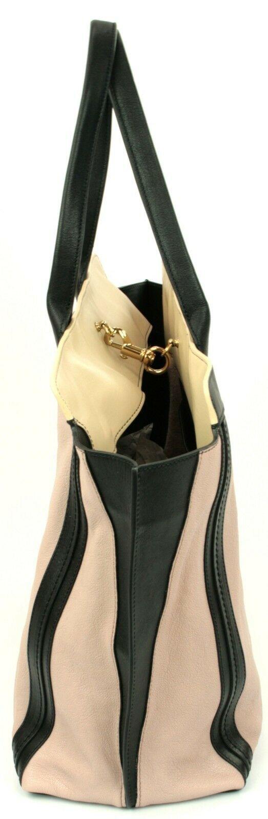Chloe Alison Tote Bag Leather Tea Petal and Black Medium Handbag RRP £880  image 7