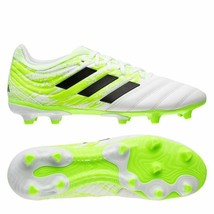 new adidas COPA 20.3 FG men's soccer CLEATS 8.5 9.5 10 10.5 11 white gre... - $64.90
