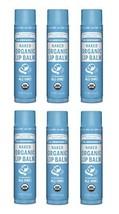 Dr. Bronner's Organic Lip Balm - Naked, 0.15oz. 6 Pack - $24.53