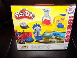 Transformers Mini Play-Doh Fun Set Play Dough Optimus Prime - $16.60