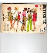Butterick Sewing Pattern 5604 - $12.38