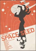 Star Trek The Original Series Space Seed Episode Poster Refrigerator Magnet, NEW - $3.95