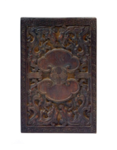Chinese Vintage Dragon & LuYi Pattern Wood Paper Graphic Printing Stamp ... - $285.00