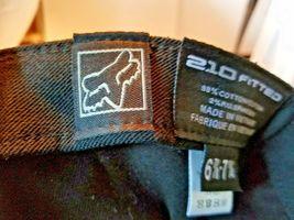 FOX Racing Splash Logo Hat Cap 210 Fitted 6 7/8 - 7 1/4 NWOT image 6