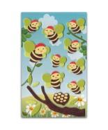 CUTE HONEY BEE FELT STICKERS Kid Craft Scrapbook Bug Insect NEW Sticker ... - $3.99