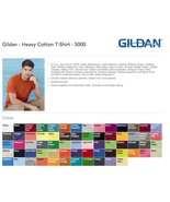 Gildan* T-SHIRTS BLANK BULK LOT Colors or White Plain S-XL Wholesale 25 - $17.79+
