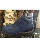 Nike Air Max Goadome ACG Leather Boot Navy Blue Men's Size 8 - $99.99