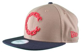 Crooks & Castles New Era Purple/Yellow or Khaki Chain C Snapback Hat image 10