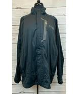 Colombia Titanium Zip Windbreaker Light Jacket Coat Men's Size XL Omni-Tech - $33.33