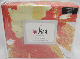 Vera Neumann Floral Bouquet Twin Duvet Set w Sh... - $40.09
