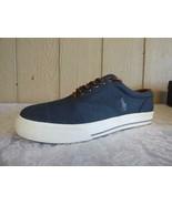 Polo Ralph Lauren Vaughn Lace Sneakers, Denim, Herringbone Chambray, US ... - $26.09