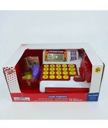 NEW play right Cash Register working calculator scanner ages 3 and up - $10.21