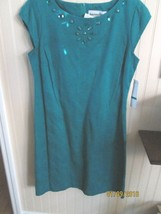 ANOTHER THYME LADIES DRESS SIZE 10 GREEN  NWT - $15.99
