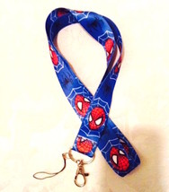 Spider-Man Marvel Comics Action Lanyard Strap One Piece Cell Phone Key Chain NEW