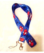 Spider-Man Marvel Comics Action Lanyard Strap One Piece Cell Phone Key C... - $6.00