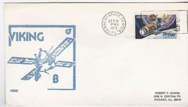 VIKING B KSC RUBBER STAMP CACHET KENNEDY SPACE CENTER FL SEPT 9 1975 - $1.78