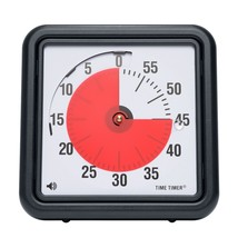 """Time Timer 60 Minute Visual Analog 8"""" Desk Wall Classroom Quiet Optional... - $24.74"""