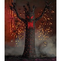 """Life Size 72"""" Lighted Animated Black Spooky Tree Outdoor Halloween Yard ... - €148,22 EUR"""