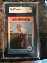 1975 Topps #396 Fred Norman SGC 6 EX/NM - $11.28
