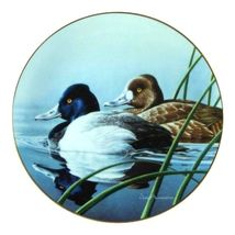 W.S George Fine China: The Lesser Scaup [Bradford Exchange] Collector Pl... - $32.95