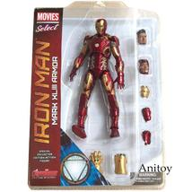 Marvel Select Iron Man MK43 Mark XLIII Armor PVC Action Figure Collectib... - $56.00