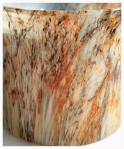 Bath & Body Works Mahogagany Teakwood Marble Jar 3 Wick Candle 14.5 oz - $24.50