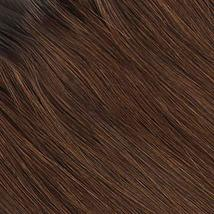 Lovrio 9A Grade 20 inch Tape in Hair Extensions, Dark Brown with Chocolate Brown image 2