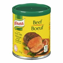 3PACK Knorr Beef Instant Stock Mix 175g Each FROM CANADA ALWAYS FRESH - $22.88