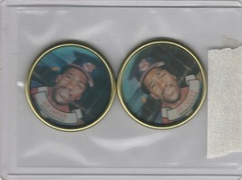 1987 Topps Coins Indians Joe Carter Lot of 2 - $1.71