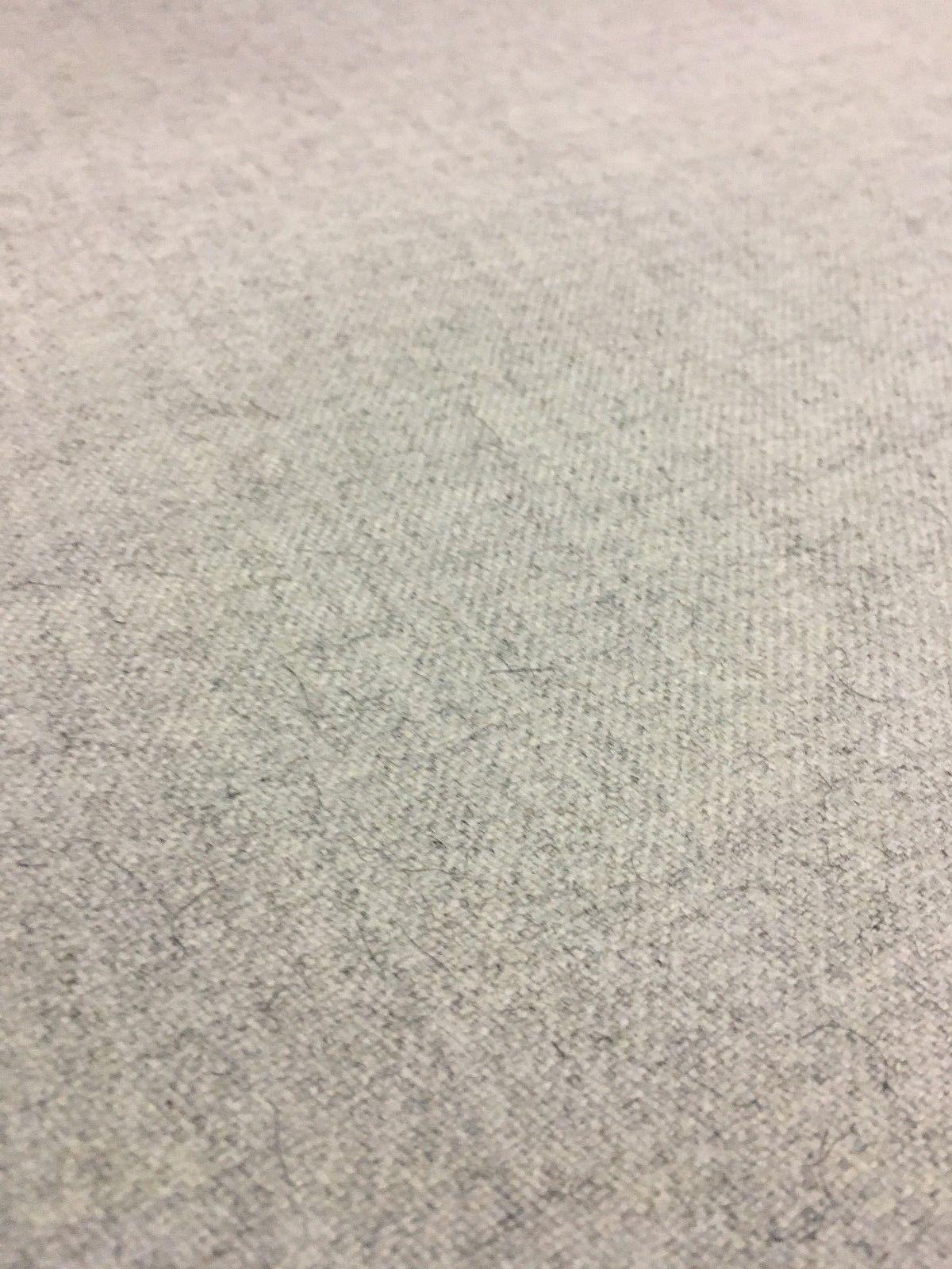 8.75 yds Woven Wool Upholstery Drapery Fabric MCM Gray Melange HL