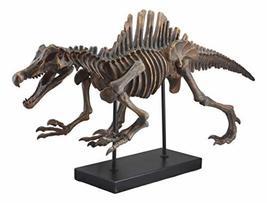 "Ebros Spinosaurus Dinosaur Fossil Skeleton Statue On Museum Mount 28.25"" Long fo - $99.99"