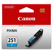 Canon CLi 251 cayan blue cyan ink PIXMA MX 922 722 MG 5420 6320 iP7220 p... - $21.73
