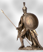 Leonidas with Spear & Shield 300 Spartans  * Free Air Priority Shipping  - $117.81