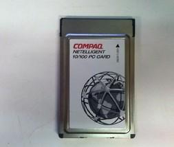 Compaq 292811-001 Netelligent 10/100 PC Network Card Adapter No Cable PCMCIA - $20.00