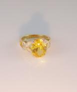 Golden Topaz Fashion Ring  - $25.00
