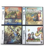 LOT of Nintendo DS Games Mario and Luigi Final Fantasy Proffessor Layton... - $88.87